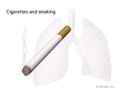 Example of research paper about cigarette smoking